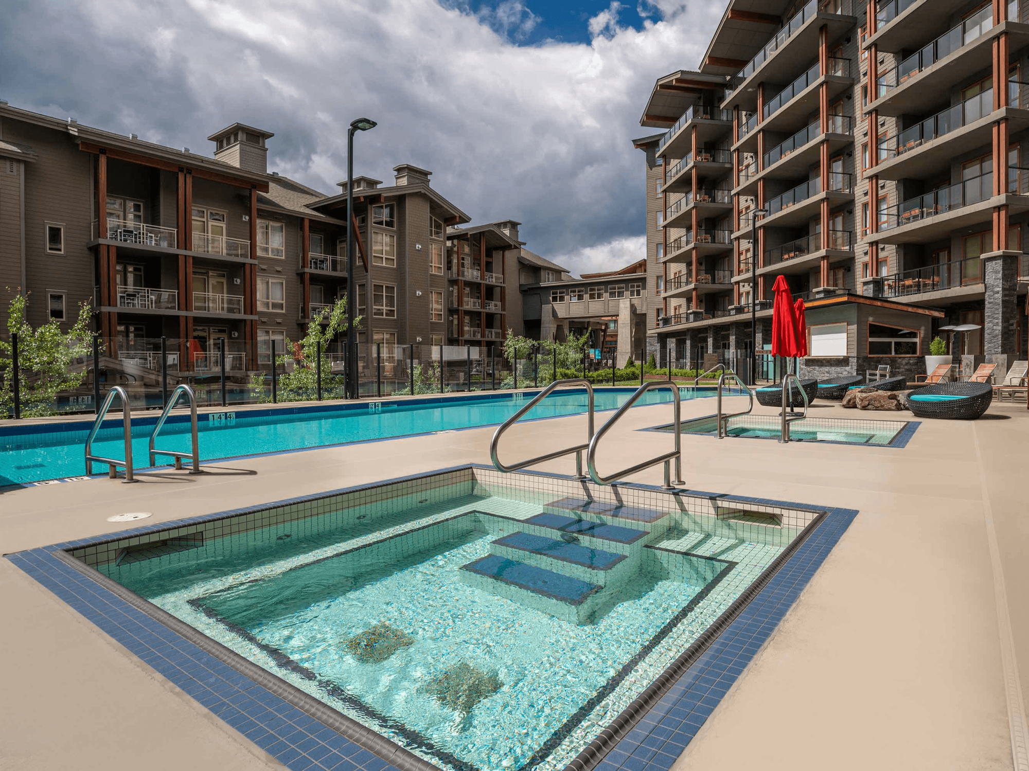 Outdoor All-Season Pool The Sutton Place Hotels