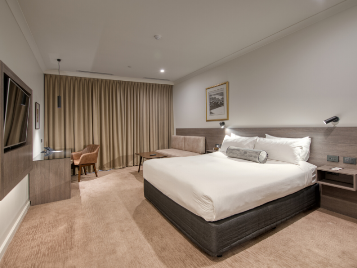 A view of Deluxe Room in Duxton Hotel Perth