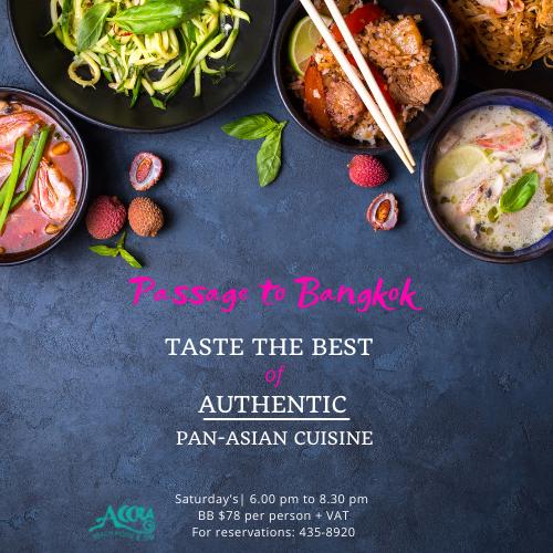 Authentic Pan-Asian Cuisine