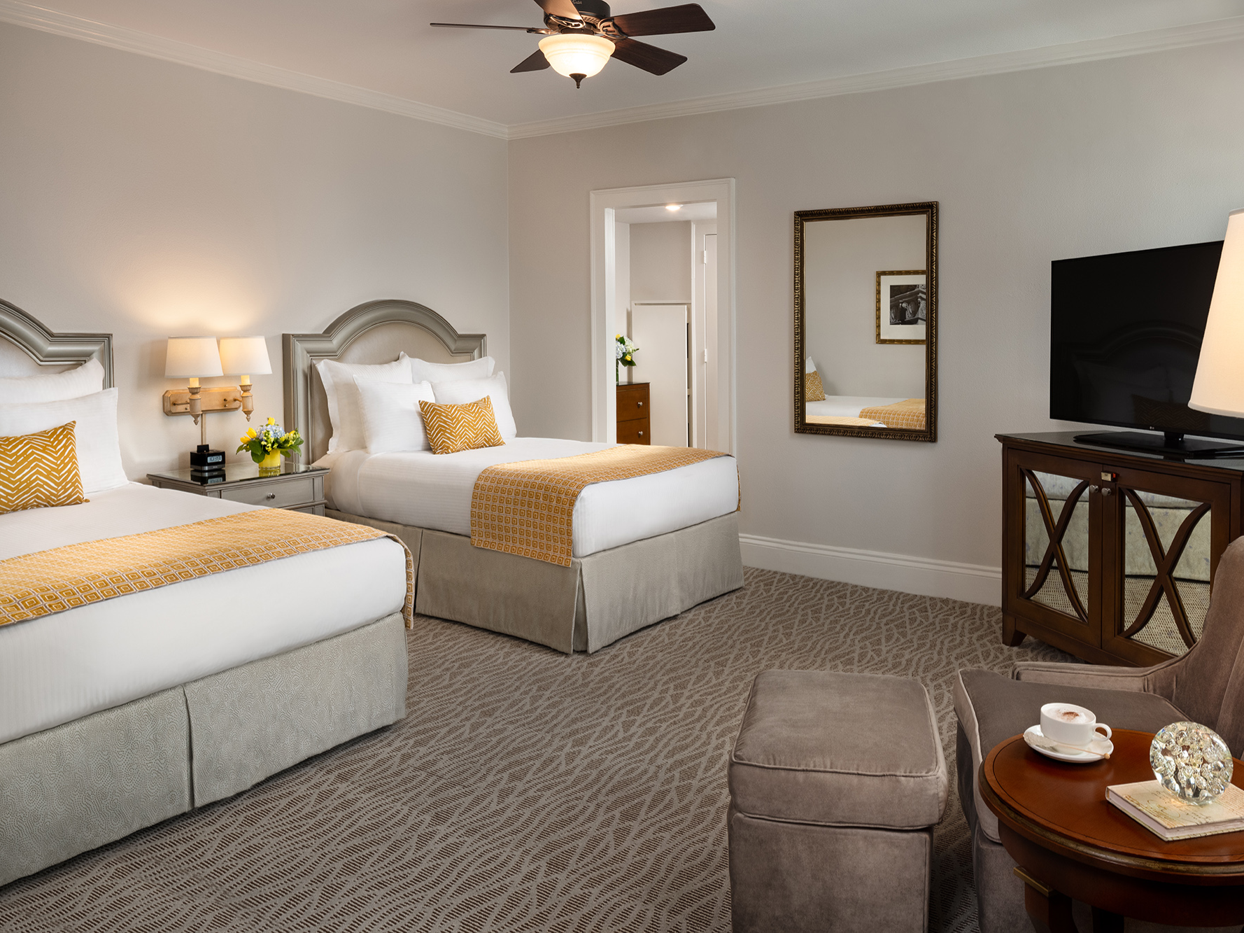 Deluxe Room Double beds Warwick Melrose Dallas