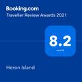 Booking Score of Heron Island Resort in Queensland, Australia