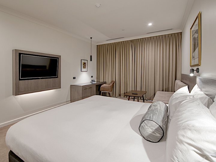 A view of Deluxe King River View Room  in Duxton Hotel Perth