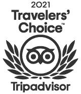 Logo for 2021 Travelers' Choice Tripadvisor