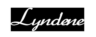 Lyndene Hotel Logo in white